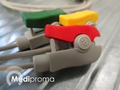 GE/ Datex Ohmeda ECG lead wire, 3 leads