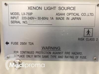 Pentax, LX-750P, Lichtbron