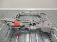 ECG lead wire, 3-leads