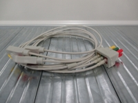 GE/ Datex Ohmeda ECG lead wire, 3 leads