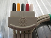 GE ECG lead wire, 5 leads
