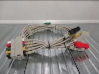Datex Ohmeda ECG lead wire, 5 leads