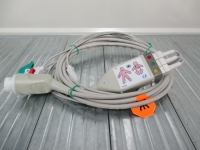 Asmuth (voor Philips) ECG stamkabel+ leads