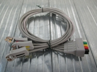 ECG lead wire, 5 leads